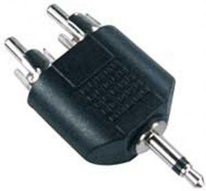 ADATTATORE SP.MO.3,5-2 SP.RCA - cod. 38.0011001