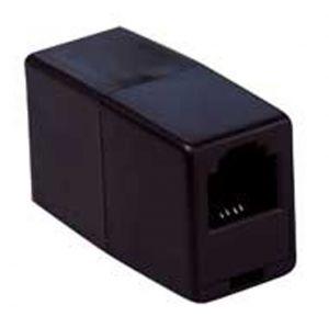 ADATTATORE MODULARE PR-PR 6P/4C PIN-PIN NERO - cod. 38.0011012N