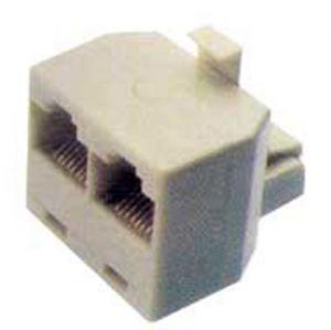 ADATTATORE MODULARE 1 SP/2 PR 8P/8C PIN TO PIN - cod. 38.0011018