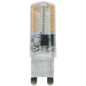 LAMPADA LED G9, 3,0W, SILICON, LED Chimei, 360°, 3000K, 220Vac, LM210 +/-10%, RA>80, 16*52mm, BOX - cod. 39.931130C