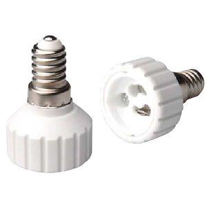 ADATTATORE PER LAMPADA, DA E14 A GU10 - cod. 39.PA1410