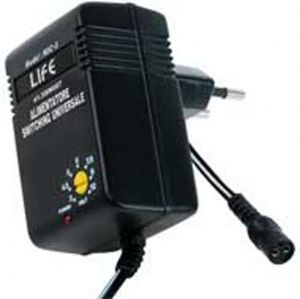 ALIMEN.SWITCHING  7.2W, OUT 3-12V 600mA CON EUP, BLISTER - cod. 41.5SW007B