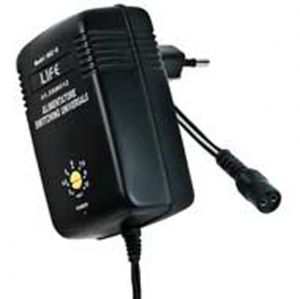 ALIMEN.SWITCHING 12W, OUT 3-12V 1000mA CON EUP, BLISTER - cod. 41.5SW012B