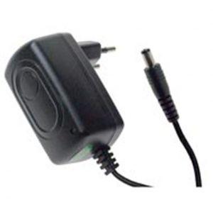 ALIMENTATORE SWITCHING 12Vdc 1A (12W) 5,5x2,1mm PARTICOLARMENTE ADATTO X SISTEMI CCTV, CON ERP - cod. 41.A10V12S