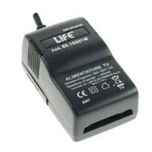 Alimentatore TV SWITCHING 1 USCITA 300mA con ERP e spia LED - cod. 60.10301W