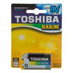 6F22X B1 9V ALKALINA TOSHIBA - cod. 73.20710TB1