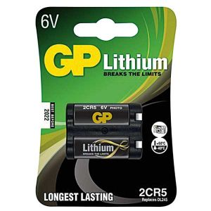 2CR5  B1 PILA LITIO 6V 1,3Ah GP - cod. 73.4106131