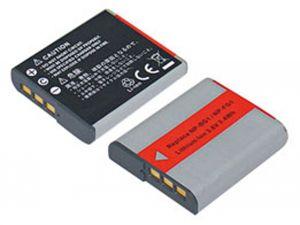 Batteria telecamera Litio 3,6V 0,95Ah per NP-BG1,NP-FG1 41.90x35.40x8.10mm SONY COMPATIBLE - cod. 74.0610109