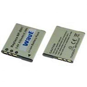 Batteria telecamera Litio 3,6V 630mAh per NP-BN, NP-BN1 41.10x35.50x5.00mm SONY COMPATIBLE - cod. 74.0610606