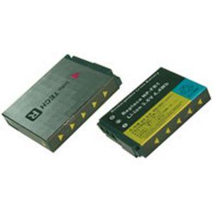Batteria telecamera Litio 3,6V 1,20Ah per NP-FR1 46.00x35.70x8.35mm SONY COMPATIBLE - cod. 74.061FR12