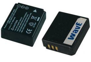 Batteria telecamera Litio 3,7V 1,00Ah per CGA-S007 36.95x30.10x12.35 mm PANASONIC COMPATIBLE - cod. 74.0620710