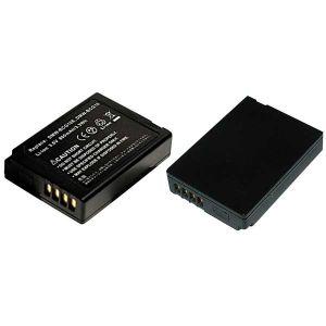 Batteria telecamera Litio 3,6V 0,80Ah per DMW-BCG10E 41.60x30.40x9.40mm PANASO. COMP. - cod. 74.0620908