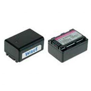 Batt. telecamera Litio 3,6V 1720Ah per VW-VBK180,VW-VBK180-K, 43.18x30.62x22.95mm PANASONIC COMPATIB - cod. 74.0621717