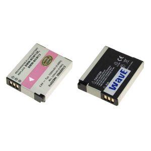 Batt. telecamera Litio 3,6V 1,32Ah per DMW-BCM13, DMW-BCM13E, 41.6x34.15x8.65mm PANASONIC COMPAT. - cod. 74.0622013
