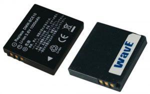 Batteria telecamera Litio 3,6V 0,75Ah per DMW-BCE10 40.40x36.45x7.40mm PANASONIC COMPATIBLE - cod. 74.062B110