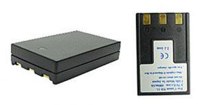 Batteria telecamera Litio 3,7V 1,00Ah per NB-1L,NB-1LH 49.80x32.20x10.60mm CANON COMPATIBLE - cod. 74.064L106