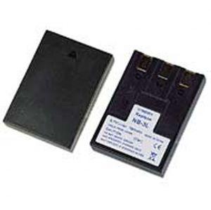Batteria telecamera Litio 3,7V 0,79Ah per NB-3L 44.90x32.00x9.00mm CANON COMPATIBLE - cod. 74.064L307