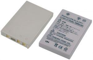 Batteria telecamera Litio 3,7V 1,00Ah per EN-EL5 53.10x35.20x7.35mm NIKON COMPATIBILE - cod. 74.0650510