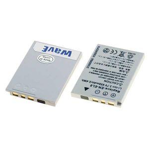Batteria telecamera Litio 3,7V 0,65Ah per EN-EL8 46.50x35.40x5.20mm NIKON COMPATIBILE - cod. 74.0650807