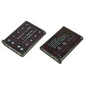 Batteria telecamera Litio 3,7V 0,62Ah 40.00x31.10x5.90mm per LI-40B OLYMPUS, EN-EL10 NIKON COMPATIBL - cod. 74.0674006
