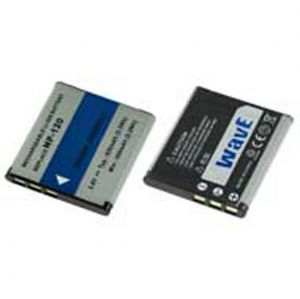 Batteria telecamera Litio 3,7V 0.63Ah per NP-120 40.50x35.40x4.90mm CASIO COMPATIBLE - cod. 74.0680306