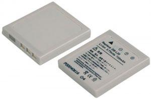Batteria telecamera Litio 3,7V 0,70Ah per DB-L20 39.3x35.40x5.95mm SANYO COMPATIBLE - cod. 74.06E2007