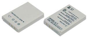 Batteria telecamera Litio 3,7V 0,65Ah per 2491001500 43.70x31.30x7.00mm ROLLEI COMPATIBLE - cod. 74.06L4206