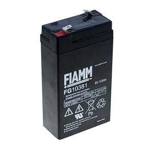 BATT. AL PIOMBO  6V  3,8Ah FIAMM FG10381 - cod. 74.0906032