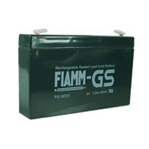 BATT. AL PIOMBO  6V  7,2Ah FIAMM FG10721 - cod. 74.0906060