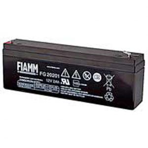 BATT. AL PIOMBO 12V  2,0Ah FIAMM FG20201 - cod. 74.0912020