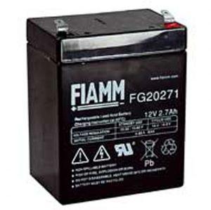 BATT. AL PIOMBO 12V  2,7Ah FIAMM FG20271 - cod. 74.0912026