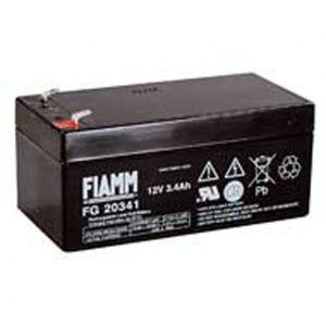BATT. AL PIOMBO 12V  3,4Ah FIAMM FG20341 - cod. 74.0912030