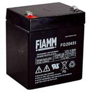 BATT. AL PIOMBO 12V  4,5Ah FIAMM FG20451 - cod. 74.0912040