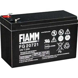 BATT. AL PIOMBO 12V  7,2Ah FIAMM FG20721 - cod. 74.0912070