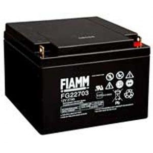 BATT. AL PIOMBO 12V  27 Ah FIAMM FG22703 - cod. 74.0912240