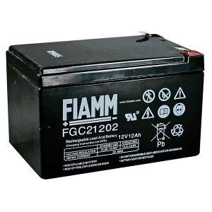 BATT. AL PIOMBO 12V  12 Ah FIAMM CYCLIC USE FGC21202 - cod. 74.09C12120