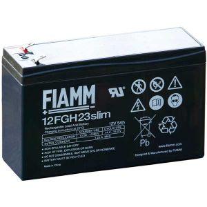 BATT.PIOMBO HIGH RATE 12V  5,0Ah SLIM FIAMM 12FGH23slim - cod. 74.09H12050S