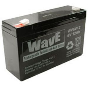 BATT. AL PIOMBO  6V 12,0Ah WAVE - cod. 74.1006120