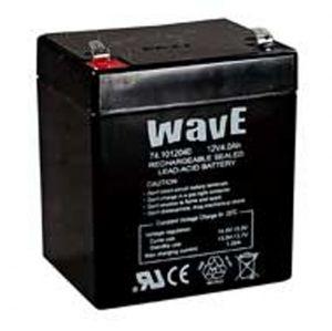 BATT. AL PIOMBO 12V  4,0Ah WAVE - cod. 74.1012040
