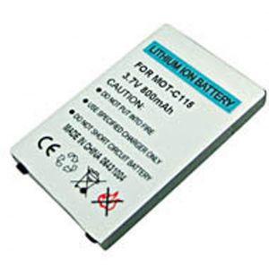 Batteria Litio  900mAh 6.0mm BA250 Motorola per C115/139/155/261,V171/177 - cod. LEC115.BLSS1