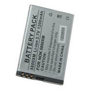 Batteria Litio 1100mAh per Nokia BL-5J,5800XPR,5230,5800NAV,N900,X6,ASHA 201, ASHA 200 - cod. LEN5800X.BLSS1