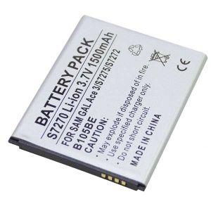 Batteria Litio 1500mAh per Samsung S7275, GALAXY ACE III LTE - cod. LESGHACE3L.BLSS