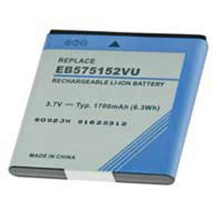 Batteria Litio 1700mAh per Samsung EB575152VU, GT-i9000 GALAXY S, CAPTIVATE, VIBRANT, i897 - cod. LESGHGALAXY.BLSS1