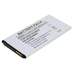 Batteria Litio 2400mAh per Samsung GT-i9600, GALAXY S5 - cod. LESGHGALAXY5.BLSS1