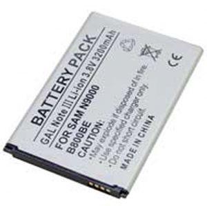 Batteria Litio 3200mAh per Samsung EB-B8600B, N9000, GALAXY NOTE III - cod. LESGHNOTE3.BLSS1