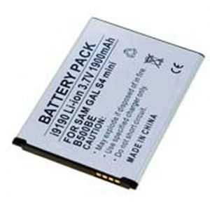 Batteria Litio 1900mAh per Galaxy Samsung S4 mini, I9190 - cod. LESGHS4M.BLSS1