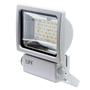 FARETTO DA ESTERNO IP65 A LED Serie GH1, 20W, 110°, 6500K, LM1750, RA>70, CHIP EPISTAR, 215*180*70MM - cod. 39.9F4020F